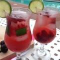 Non Alcoholic Cocktail Recipe, Cherry Lime Spritzer