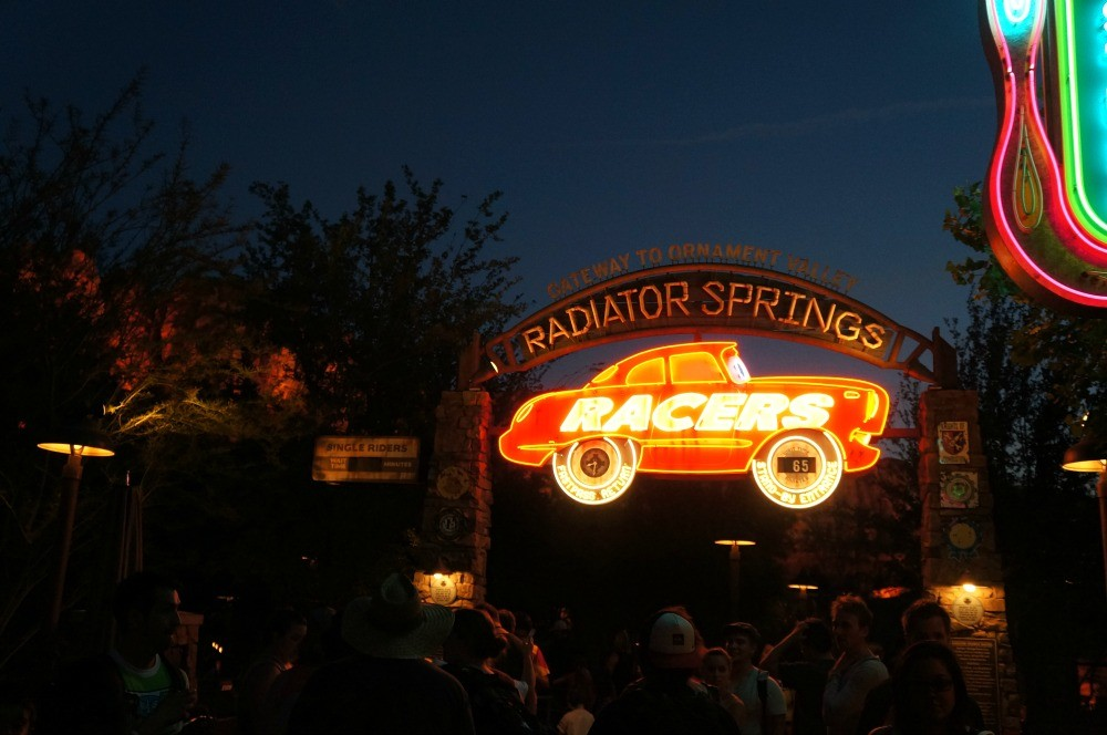 Radiator Springs Racers, Carsland, Disney's California Adventure