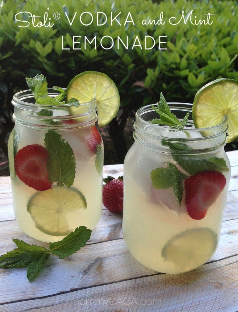 Stoli Vodka Mint Lemonade