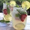 Stoli Vodka Mint Lemonade Summer Drinks