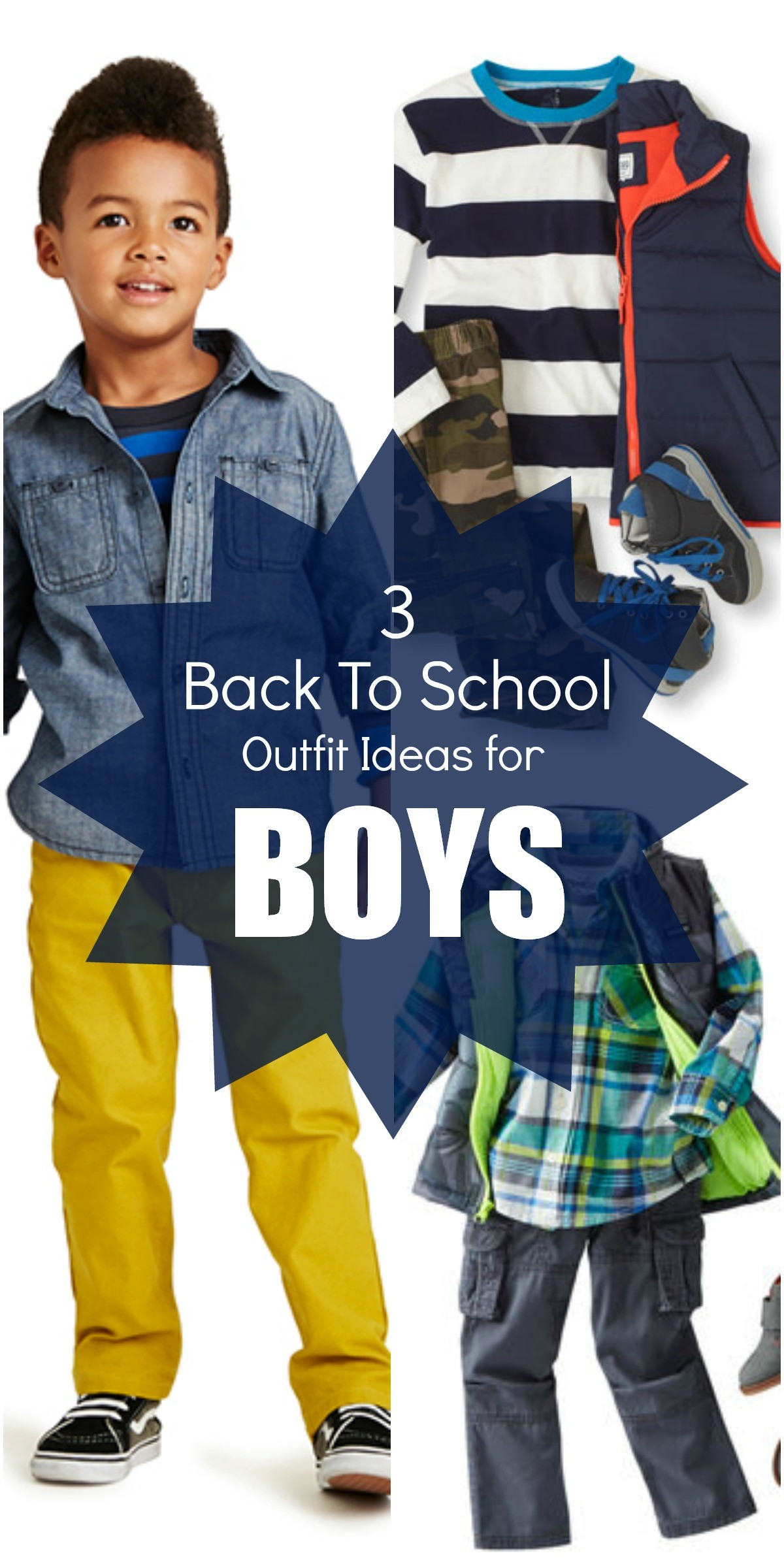family photo clothing ideas fall 2014 - Back to School Must Haves 3 Stylish Outfit Ideas for Boys