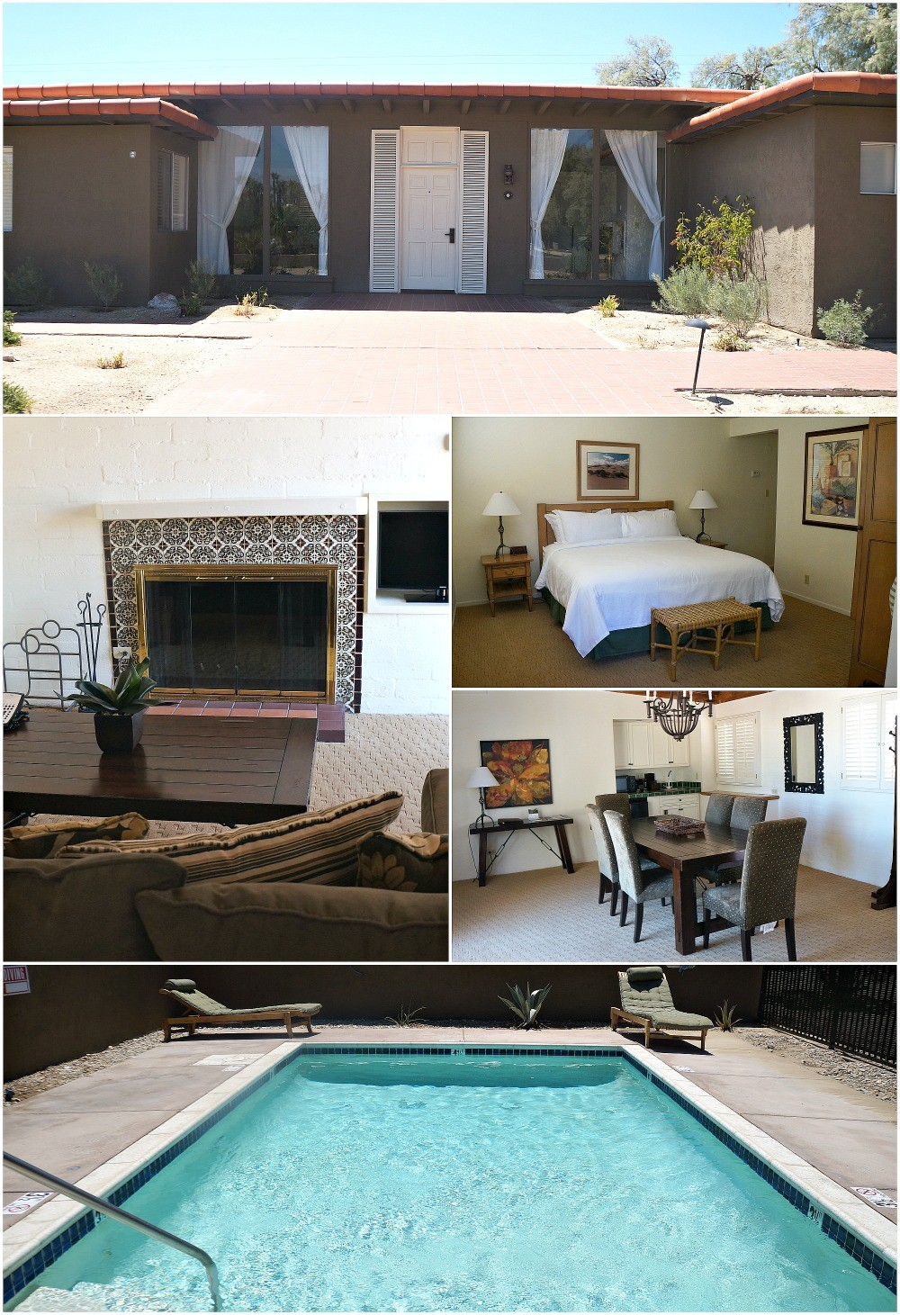 Yucca Casitas at La Casa Del Zorro Borrego Springs Hotel and Resort
