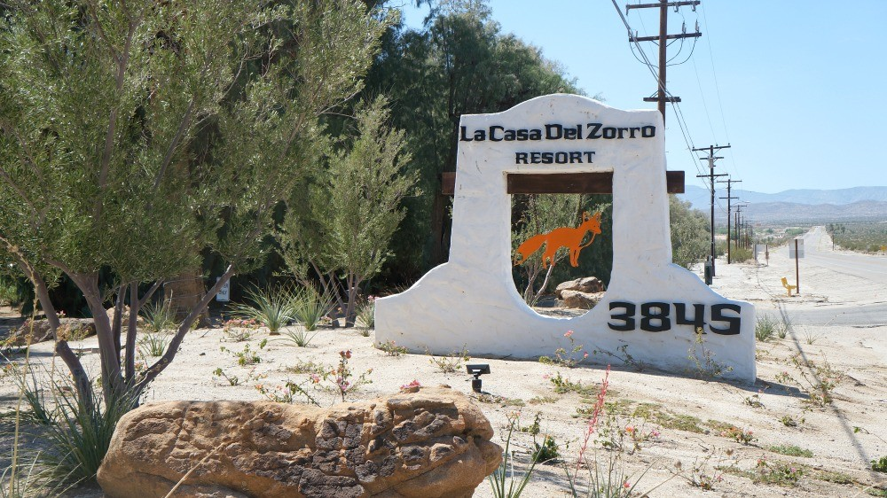 La Casa Del Zorro Desert Resort, Borrego Springs, CA