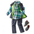 Oshkosh BGosh Fall 2014 Boys Plaid and Cargo Outfit