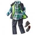 Oshkosh BGosh Fall 2014 Boys Plaid and Cargo Outfit