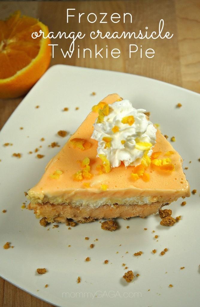 ... Love of Twinkies: Frozen Orange Creamsicle Twinkie Pie - Honey + Lime