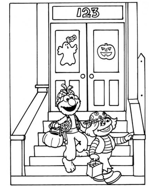 24 Free Printable Halloween Coloring