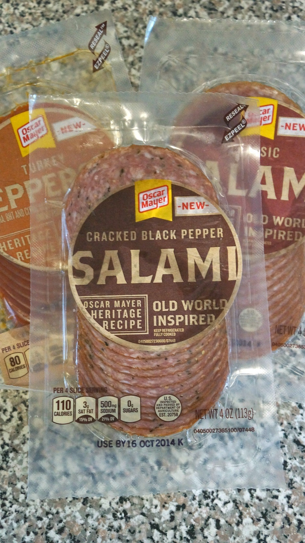 Oscar Mayer Old World Style Salami and Pepperoni