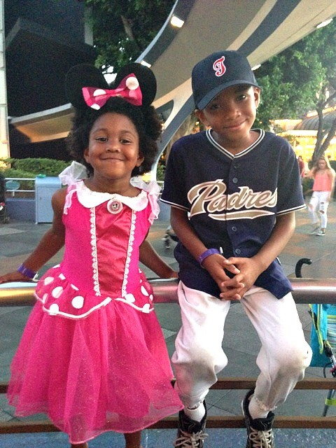 Halloween Time at The Disneyland Resort - Kids in costume