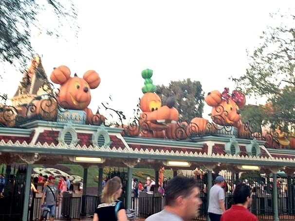 Halloween Time at The Disneyland Resort - Park Entrance