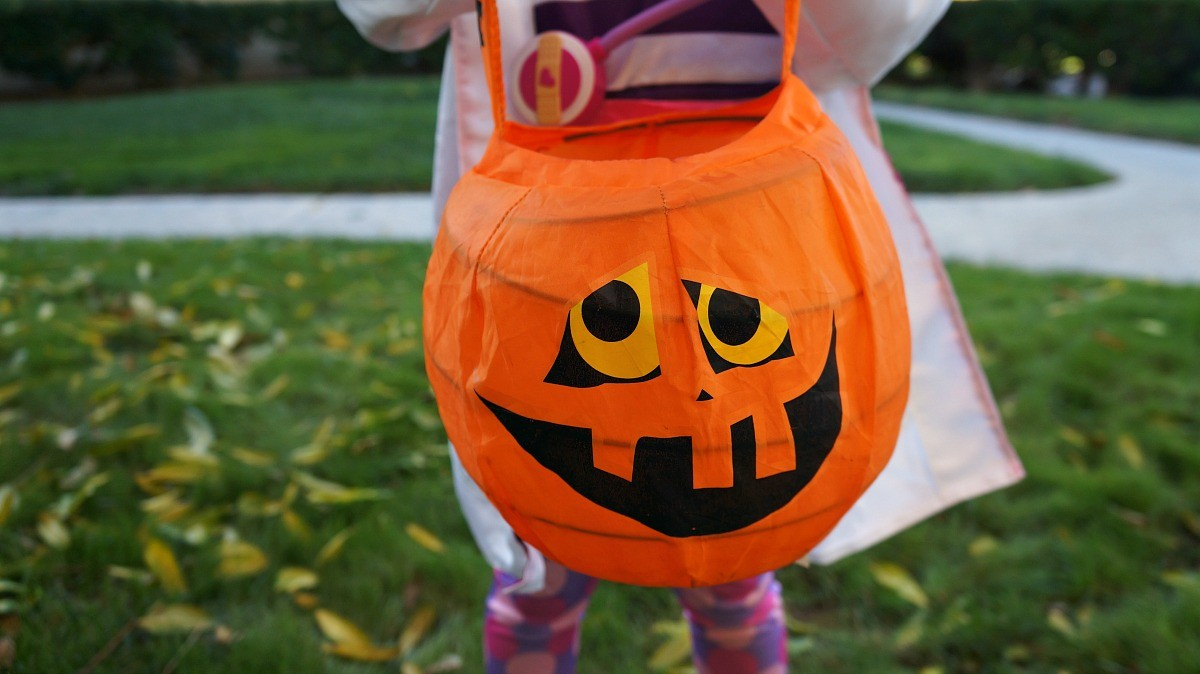 halloween trick or treat pumpkin - Doc Mcstuffins Halloween Bag