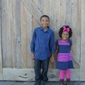 kids dressed up for holiday photos
