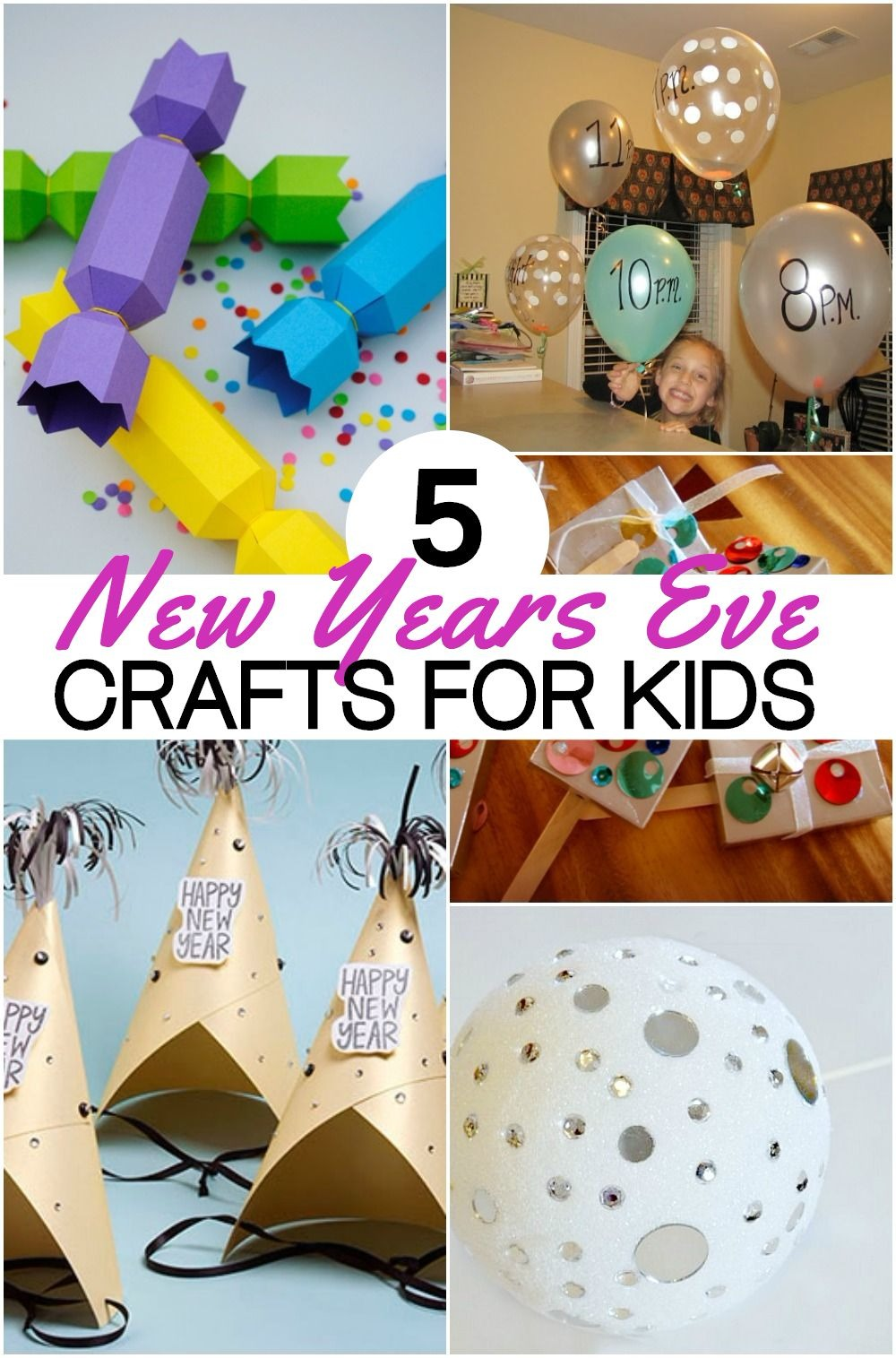 5 Fun New Years Eve Crafts For Kids To Ring In The New Year