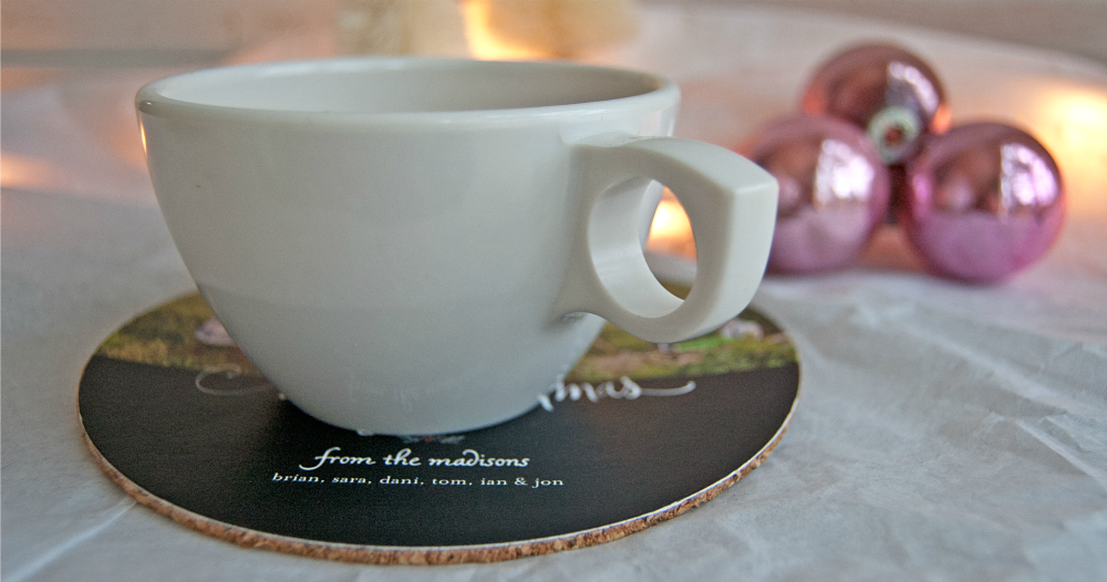 Make Your Own Diy Holiday Photo Coasters A Great Last