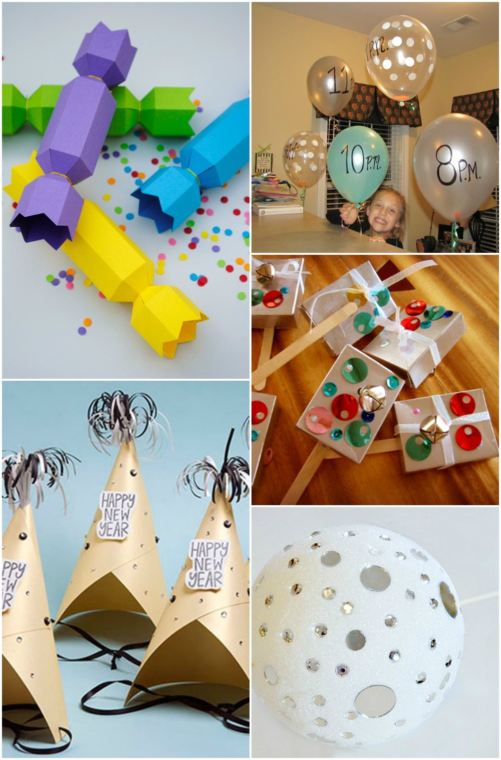 5 Fun New Years Eve Crafts For Kids To Ring In The New Year!