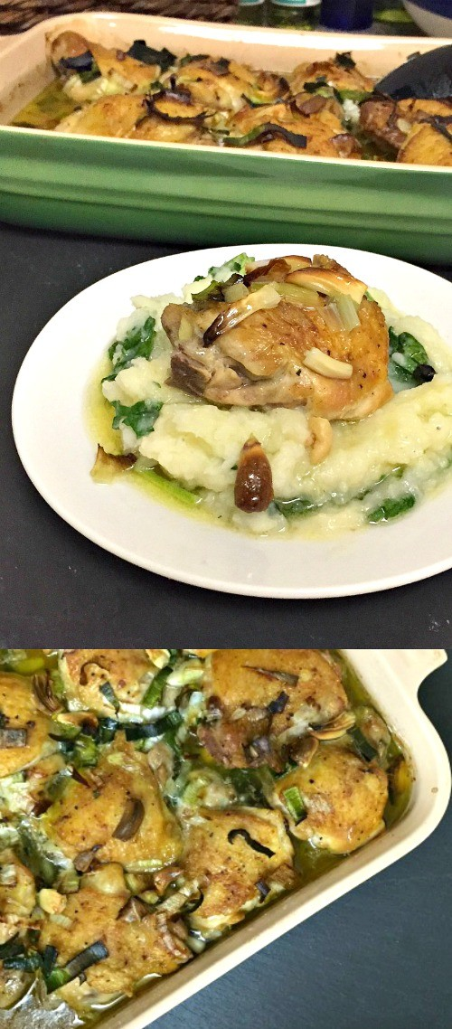 We-tried-this-garlic-and-leek-baked-chicken-recipe-for-dinner-and ...