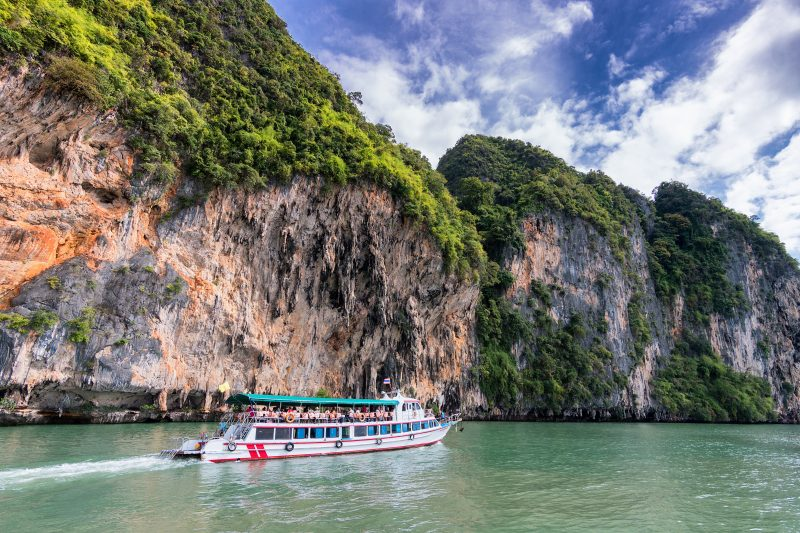 Boat ride in beautiful Phuket, Thailand