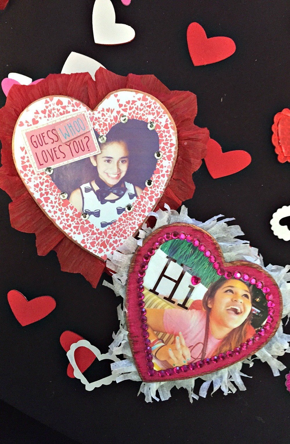 DIY Valentine's Day Gifts: Decorated Photo Heart Chocolate Box Craft