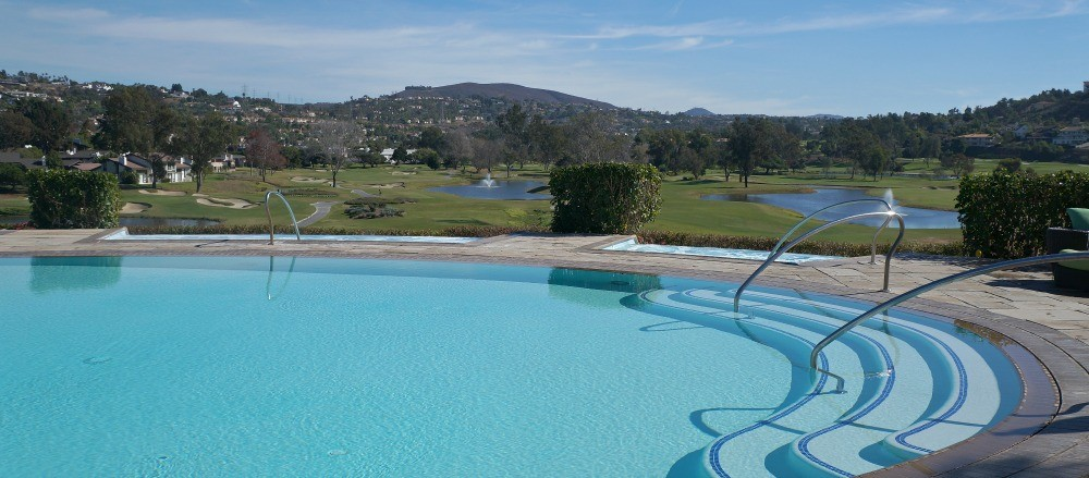 Edge Pool at Omni La Costa Resort and Spa