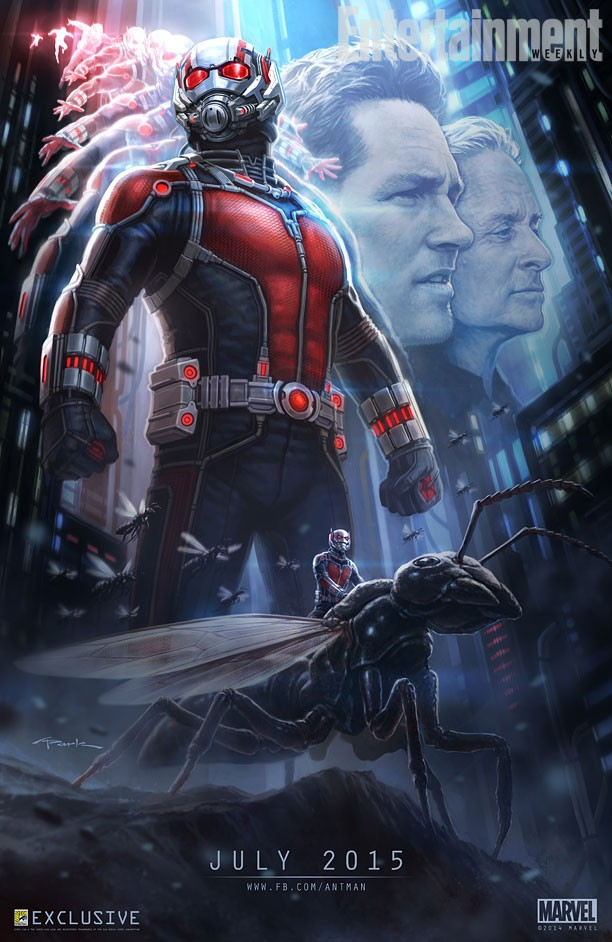 Marvel Ant-Man Movie Poster
