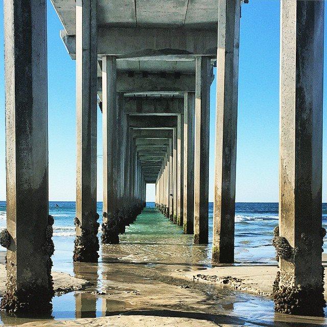 SCRIPPS PIER, La Jolla Shores, San Diego, CA, mommyGAGA