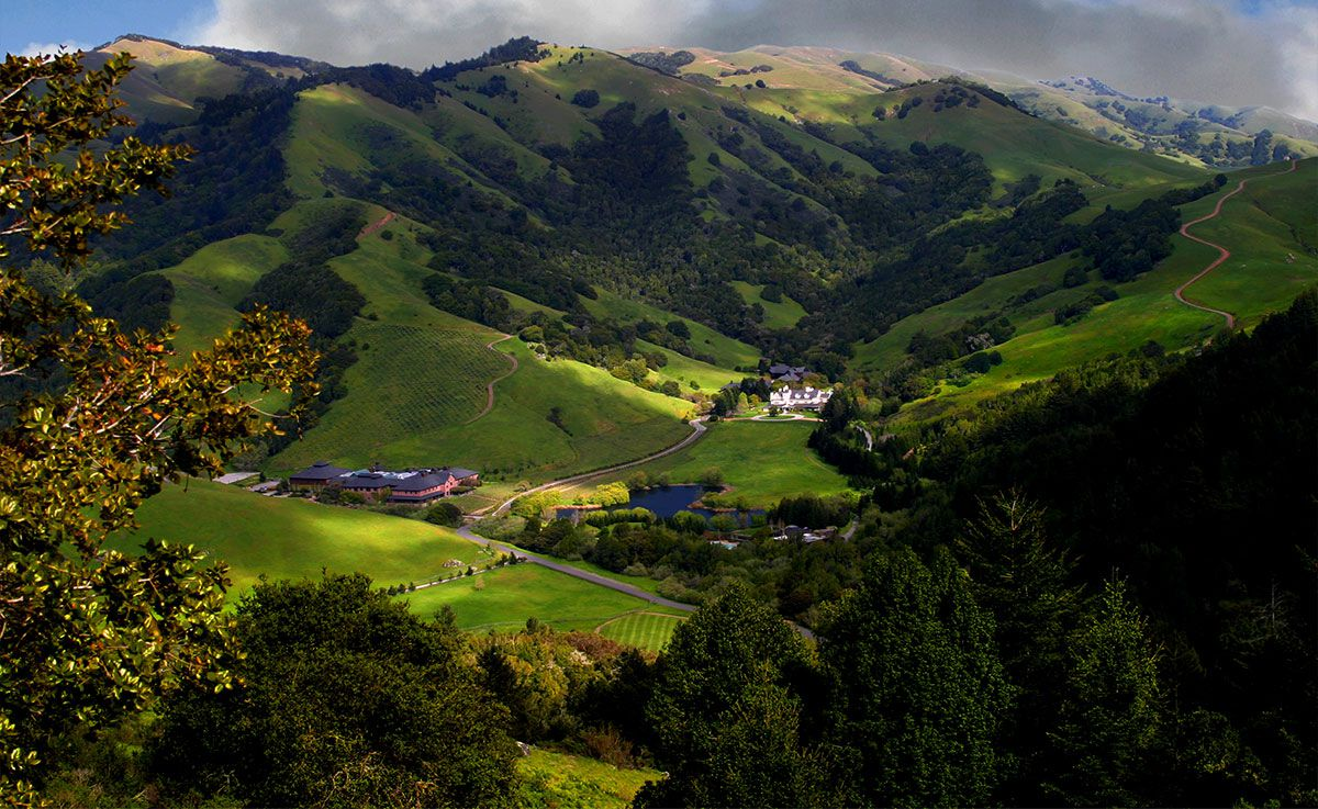 Skywalker Ranch, Lucas Films, Marin County, CA