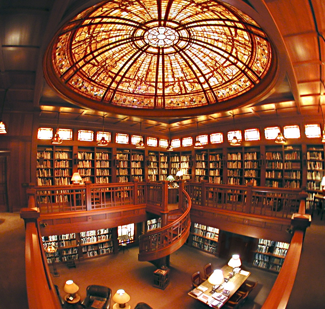 Skywalker Ranch, stunning library in the main house, copyright LucasFilm Ltd.™ All Rights Reserved (2)
