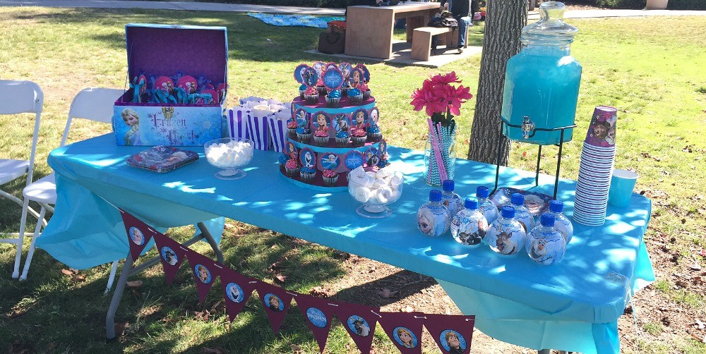 Frozen Birthday Party Ideas The Dessert Table