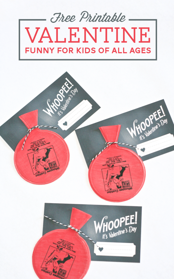 Whoopie Cushion Valentines, Paging Super Mom