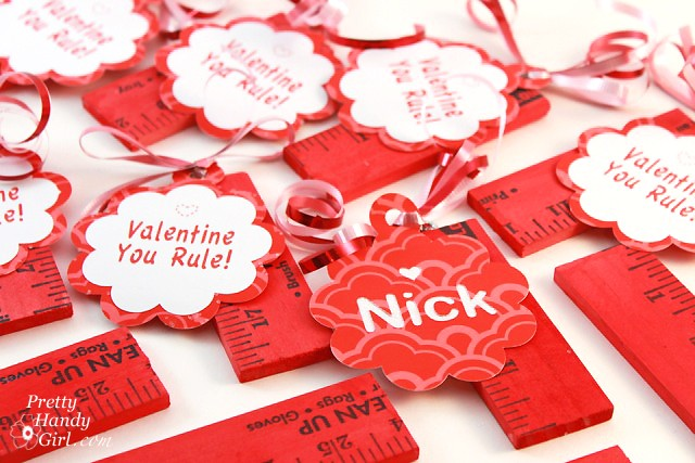 You Rule Valentines, Pretty Handy Girl
