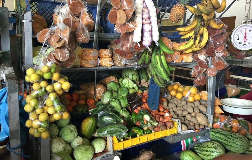 Local Panamanian produce market, Penonome, Panama, Deanna Underwood