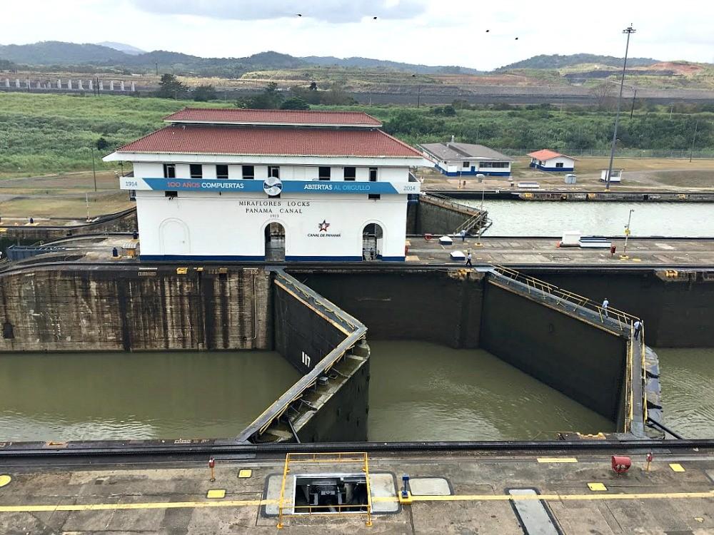 Panama Canal, Miraflores Locks, Deanna Underwood