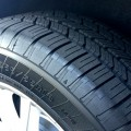 Automobile tire safety, keep good tread for maximum traction
