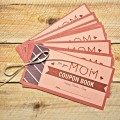 Mother's Day Gift, Coupon Book of Favors for Mom
