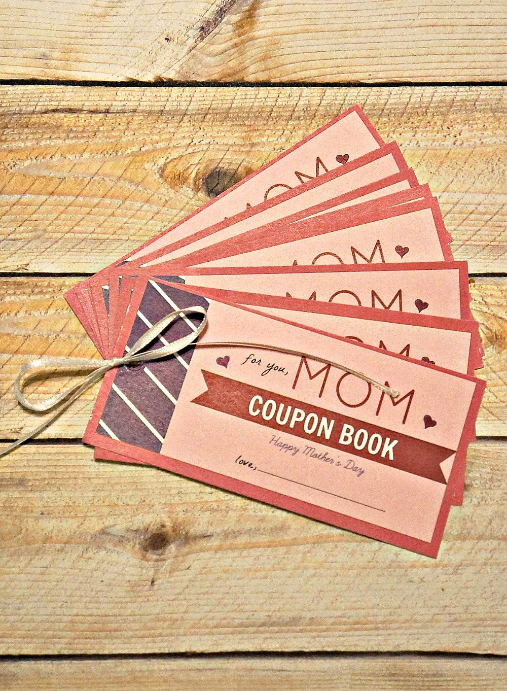 don t buy her a gift for mother s day give her a day off mother s day gift coupon book of favors for mom