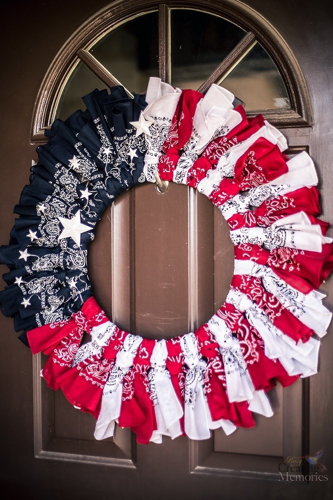 16 easy patriotic 4th of july crafts for kids red white for Americana crafts to make