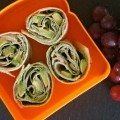 Changing Up School Lunch: Kids Love These Healthy Turkey, Pesto and Avocado Rolls!