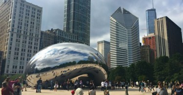 Cloud Gate, The Bean, Millennium Park, Downtown Chicago, Illinois