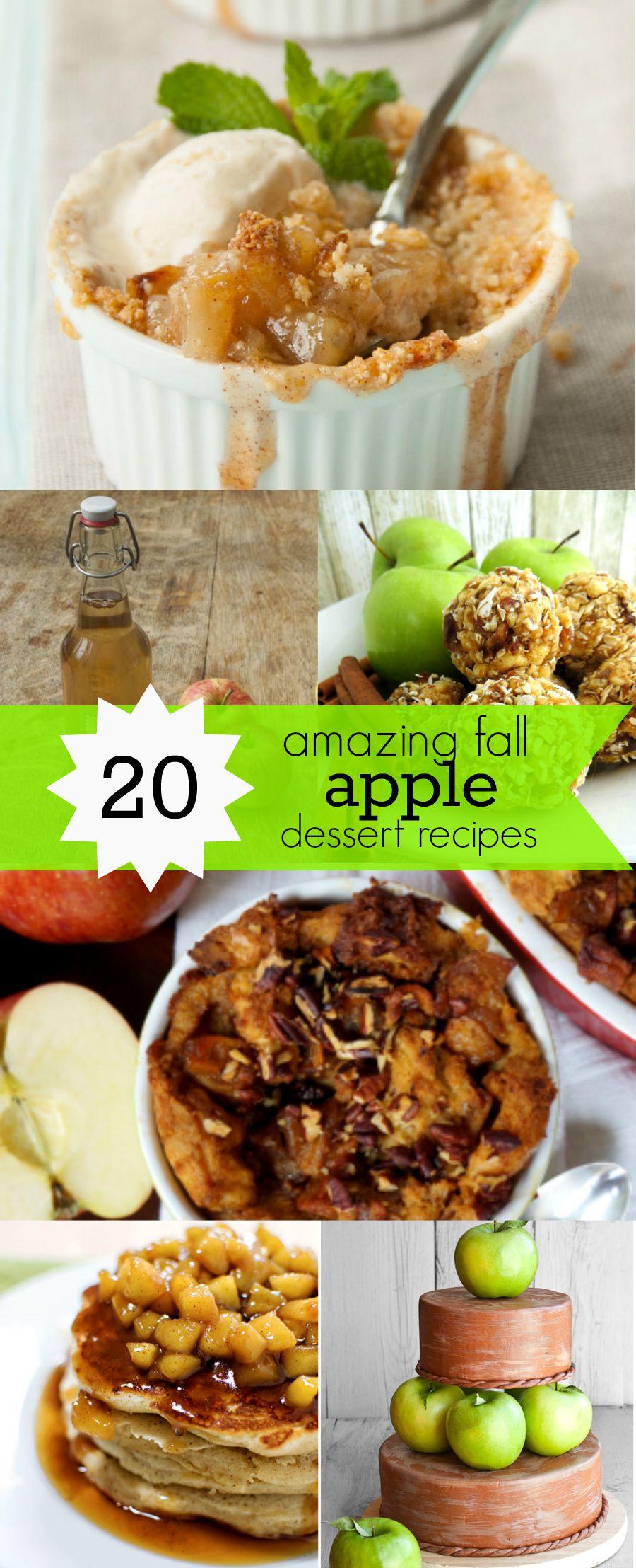 20 of the Best Fall Apple Dessert Recipes