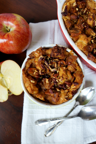 Apple Pie Bread Pudding, The Baking Fairy