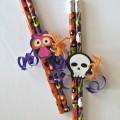 DIY Halloween Pencil Favors: Easy No-Candy Halloween Treats for Kids!