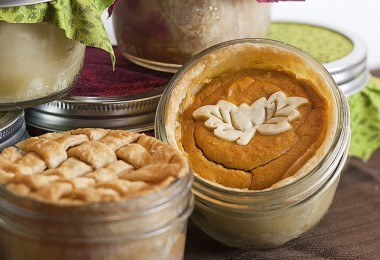 Pumpkin pie in a jar, the nerds wife