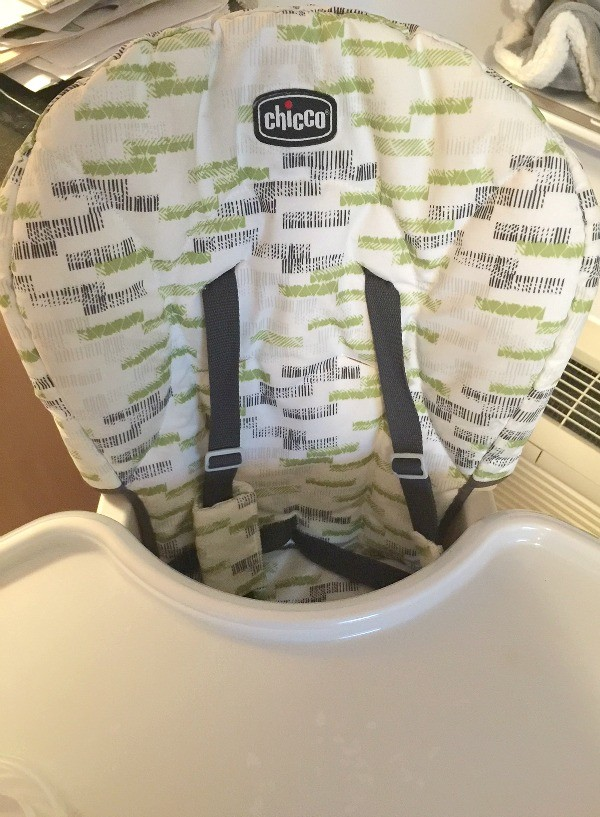 Chicco Stack 3-in-1 high chair padded seat and safety harness
