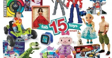 Kmart Fab 15 Holiday Toy Shopping List