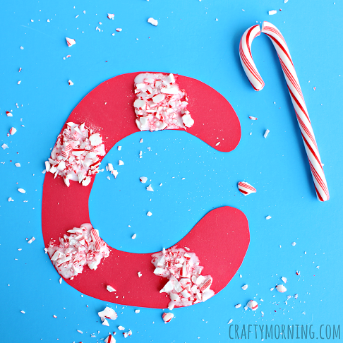 c-is-for-crushed-candy-canes-kids-craft, Crafty Morning