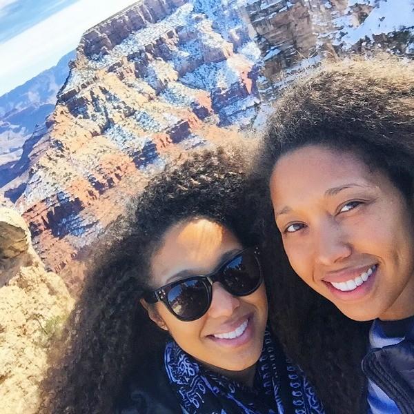 Grand Canyon Road Trip, Girls hike the Grand Canyon Kaibab Trail