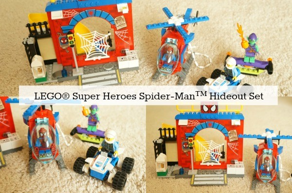 LEGO® Junior Super Heroes Spider-Man Hideout Building Set