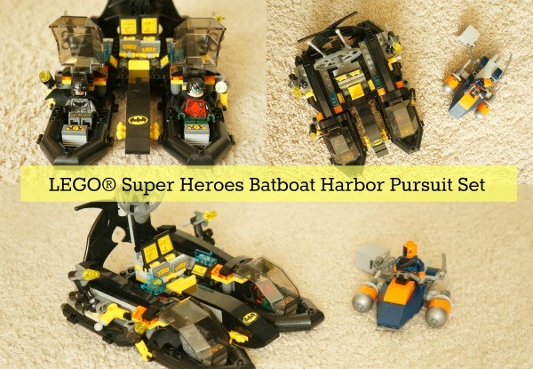 LEGO® Super Heroes Batboat Harbor Pursuit Building Set