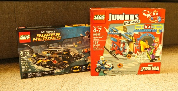LEGO® Super Heroes Marvel and DC Comics Building Sets