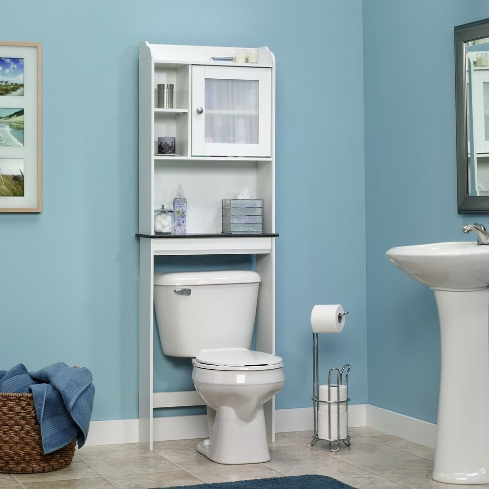 Perfect Over the toilet bathroom storage cabinet